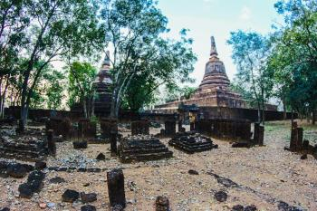 Photo of Brown Concrete Temple