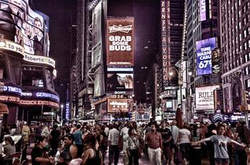 Photo of People Walking in the Streets of New York City