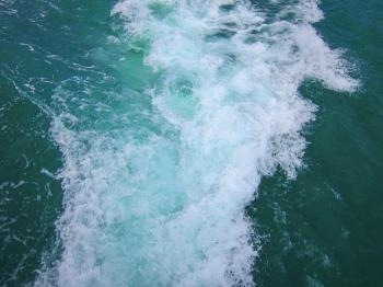 Photo of Water Passed by a Boat