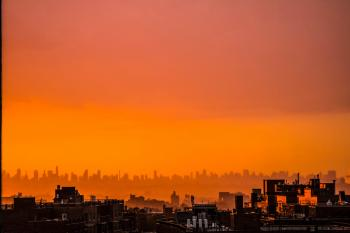 Photography of City During Sunset