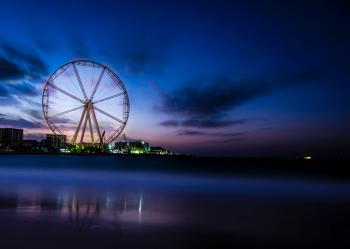 Photography Of Ferris Wheel Near Body Of Water