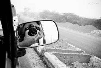 Photography through the Car