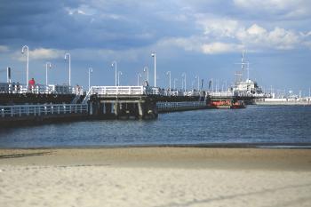 Pier in Sopot / Baltic Sea