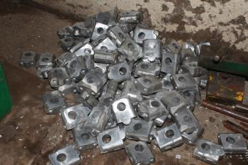 Pile of Metallic Clamps