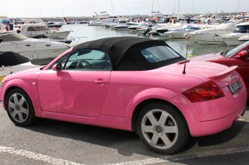 Pink Audi