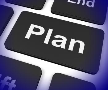 Plan Key Shows Objectives Planning And Organizing