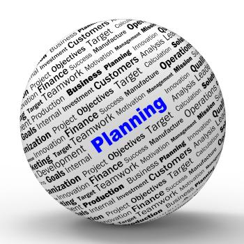 Planning Sphere Definition Means Mission Planning Or Objectives