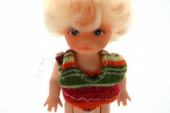 Plastic doll figure