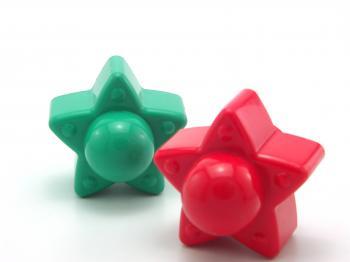 Plastic toy star