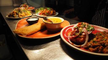 Platter of Foods