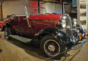 Plymouth Coupe Convertable. 1934. (1)