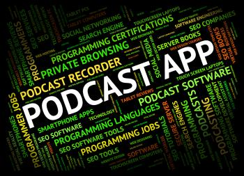 Podcast App Shows Broadcasts Broadcast And Download