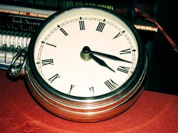 Polished Clock