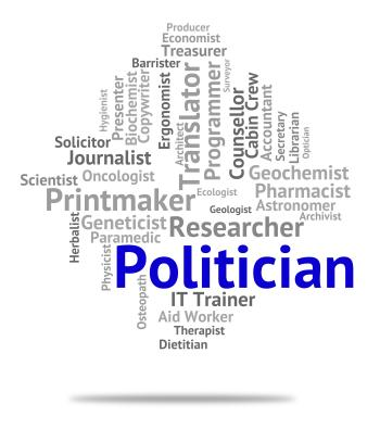 Politician Job Represents Member Of Parliament And Career