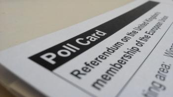Polling card for an election
