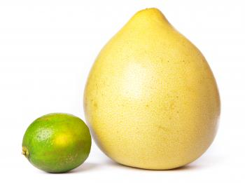 Pomelo and lime
