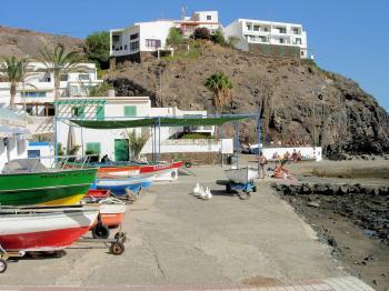 Port in Fuerteventura, Canary Islands