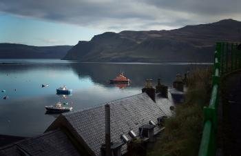 Portree Harbour Isle of Skye - Early Mor