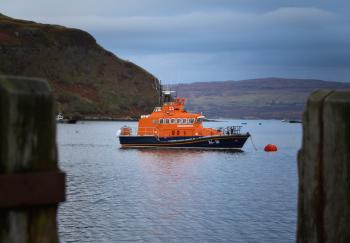 Portree Lifeboat, Isle of Skye