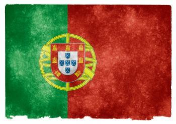 Portugal Grunge Flag