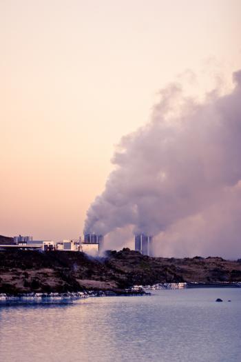 Power station at Reykjanes Peninsula