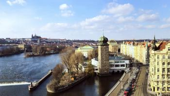 Prague in the Late Afternoon