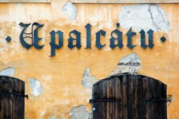 Prague wall