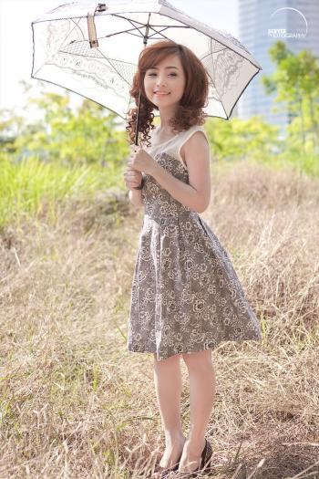 Pretty Girl posing