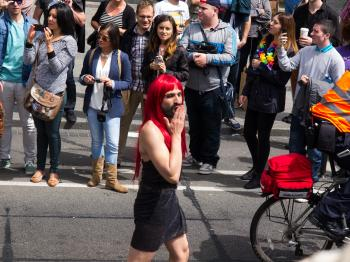 Pride on the streets of Dublin 2014