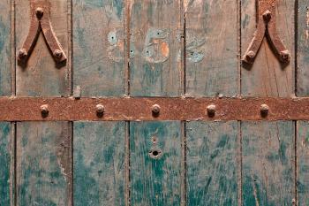 Prison Cell Door - HDR