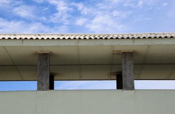 Prison roof