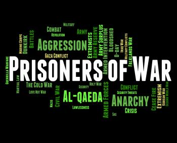 Prisoners Of War Shows Military Action And Bloodshed