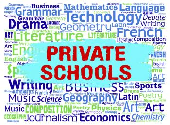 Private Schools Means Non State And Educating