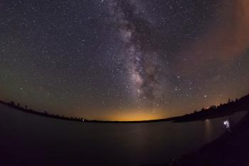 [Processed] Milky Way over Ashurst Lake