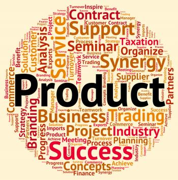 Product Word Represents Stock Stocks And Words