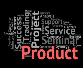 Product Word Shows Words Stocks And Goods