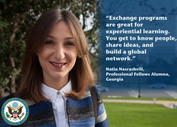Professional Fellows Alumni Share their exchange experience stories