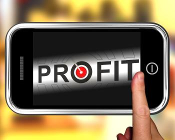 Profit On Smartphone Shows Aimed Progress