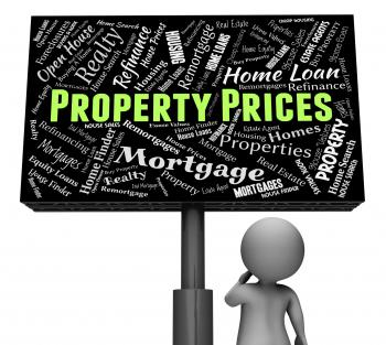 Property Prices Represents Real Estate And Apartments