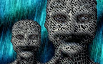Psychology - Abstract faces