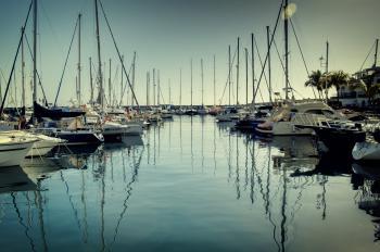Puerto de Mogan Reflections