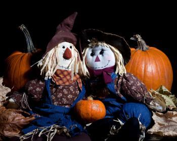 Pumpkins and Dolls