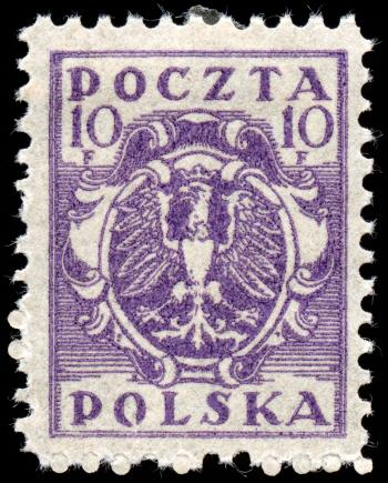 Purple Eagle Crest Stamp