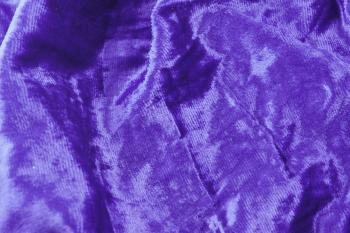 Purple fabric