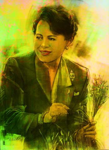 Queen Sirikit of Thailand สมเด็จพระนางเจ้าสิริกิติ์ พระบรมราชินีนาถ