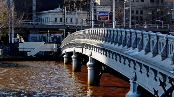 Queens Bridge. Melbourne.Aust.