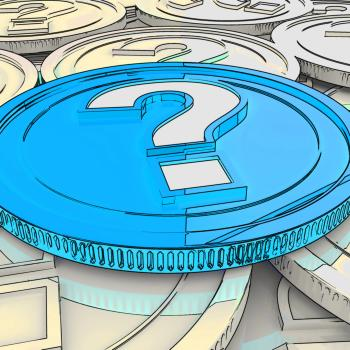 Question Mark Coin Shows Speculation About Finance