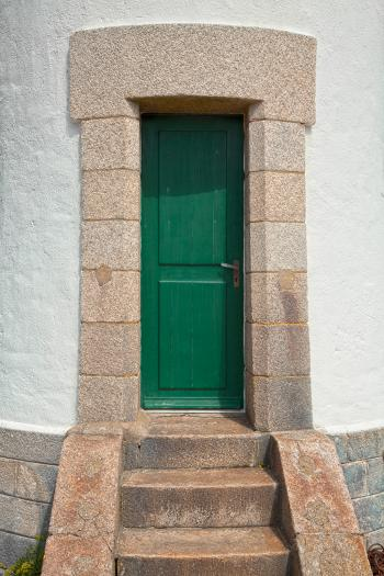 Quiberon Lighthouse Door - HDR