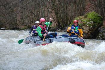 Rafting in the River