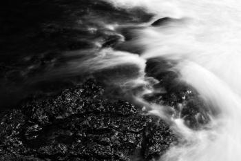 Raging Kolufoss Stream